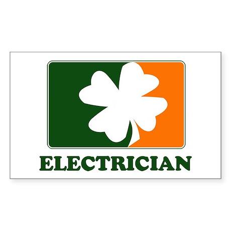 Irish ELECTRICIAN Rectangle Sticker