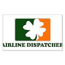 Irish AIRLINE DISPATCHER Rectangle Decal