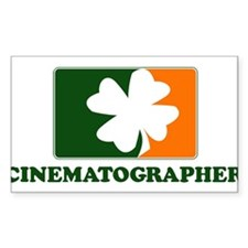 Irish CINEMATOGRAPHER Rectangle Decal