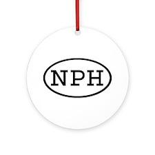 NPH Oval Ornament (Round)