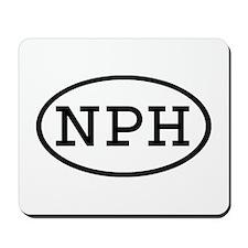 NPH Oval Mousepad