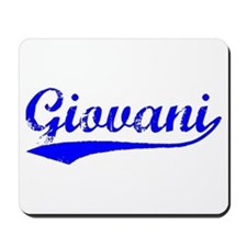 Vintage Giovani (Blue) Mousepad