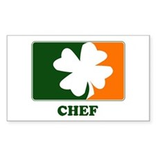 Irish CHEF Rectangle Decal