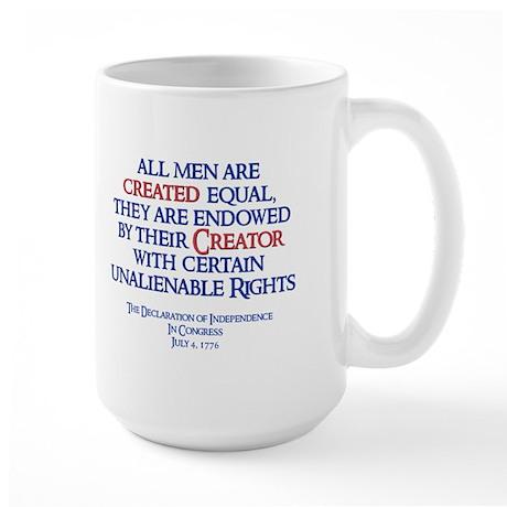 Heritage: Created Equal Large Mug