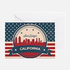 Funny San diego Greeting Card