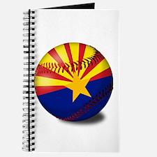 Baseball Arizona Flag Journal