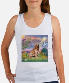 Cloud Angel / Golden Women's Tank Top