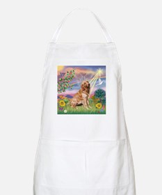 Cloud Angel / Golden BBQ Apron