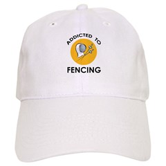 Addicted To Fencing Baseball Cap