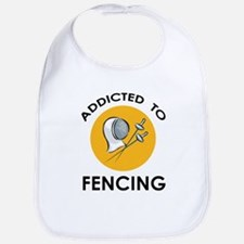 Addicted To Fencing Bib