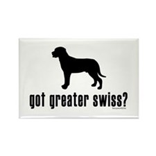 got greater swiss? Rectangle Magnet (100 pack)