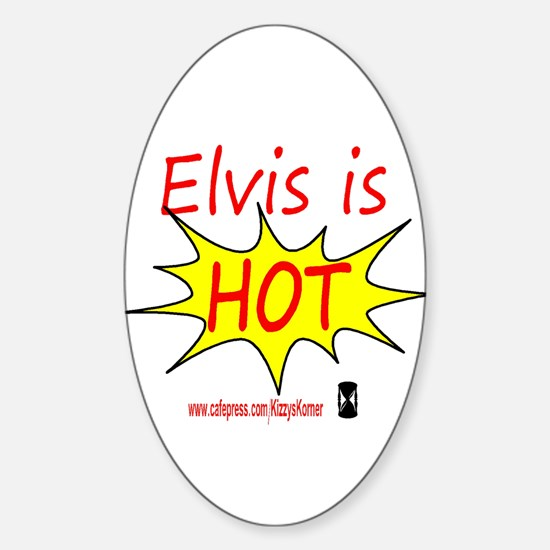 DOOL ELVIS Oval Decal