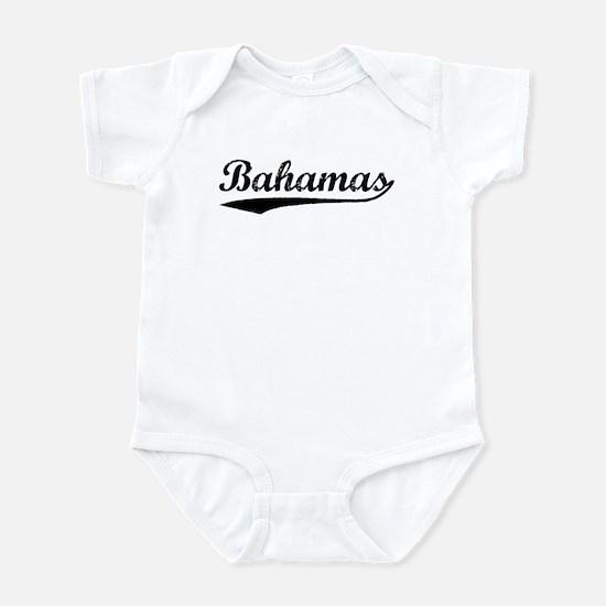 Vintage Bahamas (Black) Infant Bodysuit
