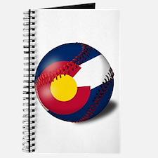 Baseball Colorado Flag Journal