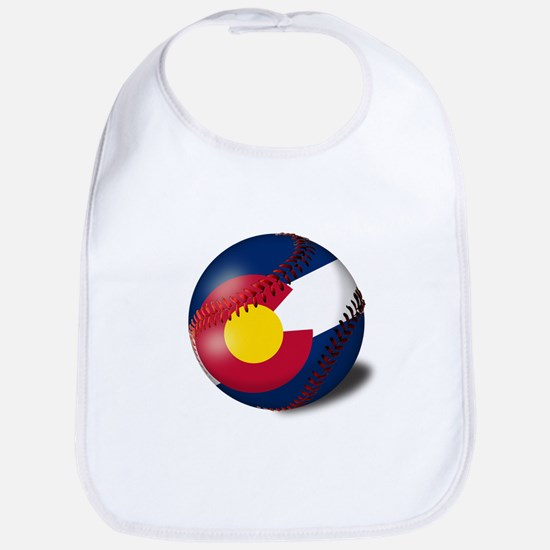 Baseball Colorado Flag Bib