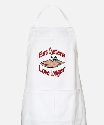 Like Oysters BBQ Apron