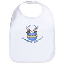 Oma's Hunny Bunny BOY Bib