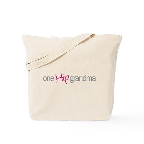 one hip grandma Tote Bag