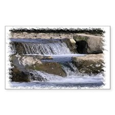 ...River Neath 4... Rectangle Decal