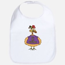Birthday Suit Chicken Bib