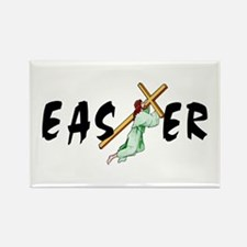 Easter Cross Rectangle Magnet