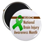 "Brain Injury Month 2.25"" Magnet (100 pack)"