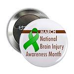 """Brain Injury Month 2.25"""" Button (100 pack)"""