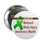 """Brain Injury Month 2.25"""" Button (10 pack)"""
