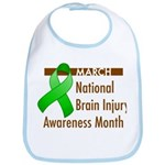 Brain Injury Month Bib