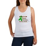 Brain Injury Month Women's Tank Top