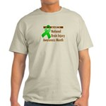 Brain Injury Month Light T-Shirt