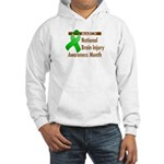 Brain Injury Month Hooded Sweatshirt