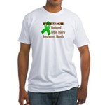 Brain Injury Month Fitted T-Shirt