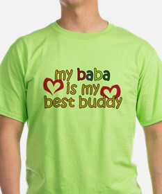 Baba is My Best Buddy T-Shirt