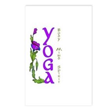 Yoga- Body, Mind and Spirit Postcards (Package of