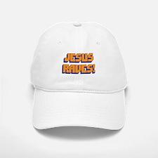 Jesus Raves! Baseball Baseball Cap