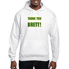 """Thank You Brett!"" Jumper Hoody"