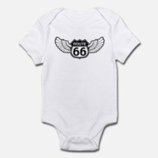 Winged Rte. 66 Infant Bodysuit