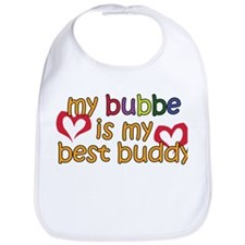 Bubbe is My Best Buddy Bib