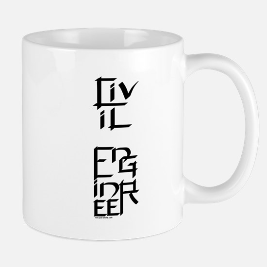 Civil Engineer Character Mug