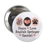 Peace Love Springer Spaniel 2.25
