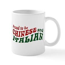 Proud Chinese and Italian Mug
