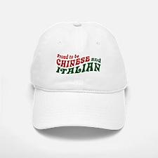 Proud Chinese and Italian Baseball Baseball Cap