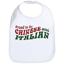 Proud Chinese and Italian Bib