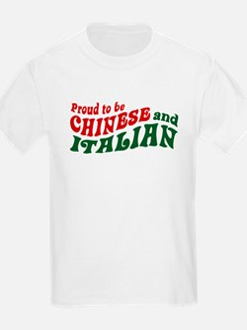 Proud Chinese and Italian T-Shirt