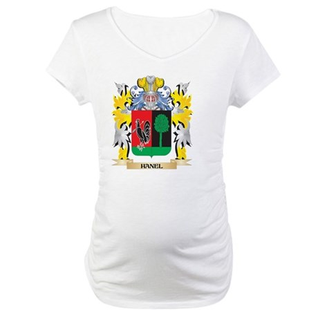 Hanel Coat of Arms - Family Cres Maternity T-Shirt