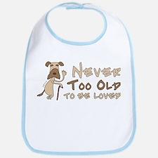 Senior Dog Adoption Bib