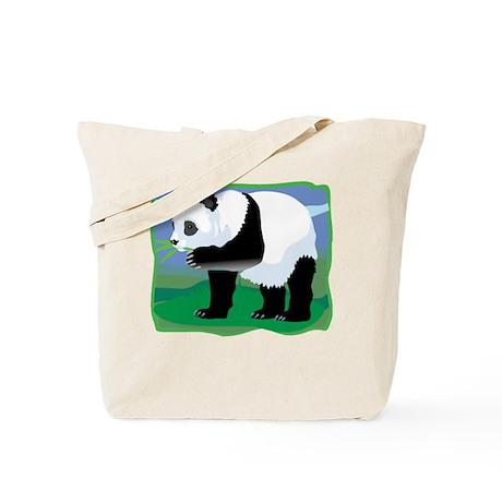 Jungle Panda Tote Bag