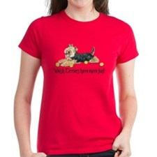 Welsh Terriers Fun Dogs Tee