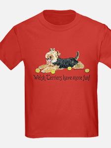 Welsh Terriers Fun Dogs T